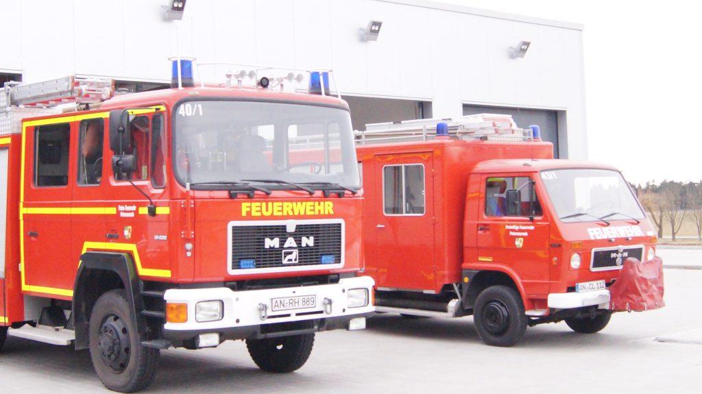 FFW Petersaurach Feuerwehrgerätehaus M.I.