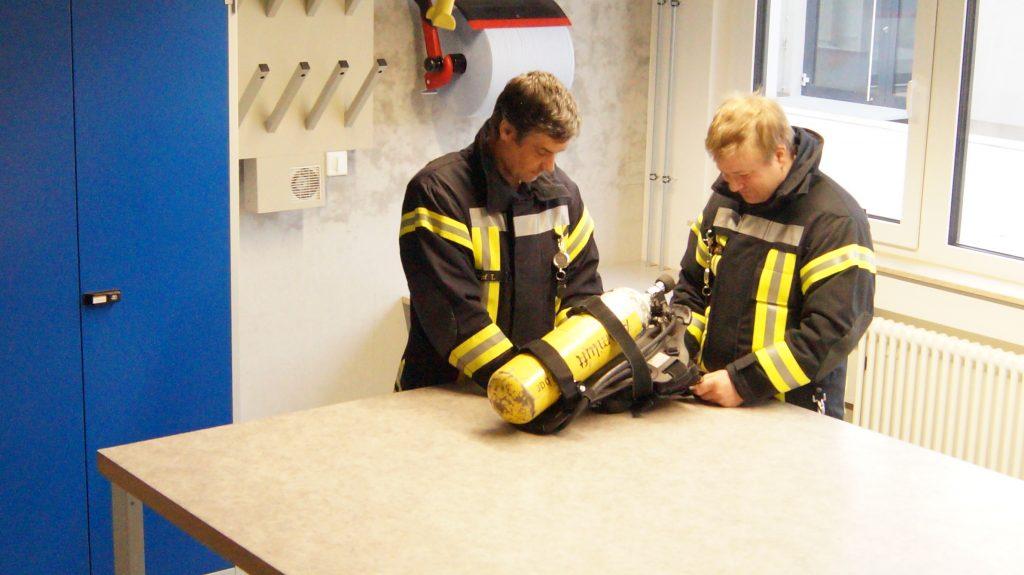 FFW Petersaurach Feuerwehrgerätehaus Atemschutzwerkstatt M.I.