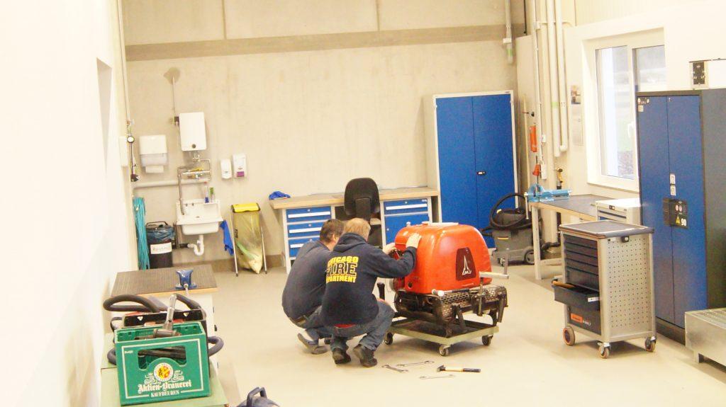 FFW Petersaurach Feuerwehrgerätehaus Werkstatt M.I.