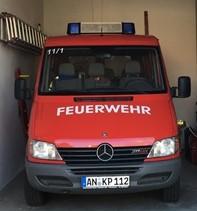 FFW Petersaurach Mehrzweckfahrzeug 11/1