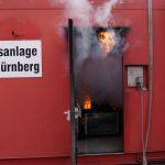 FFW Petersaurach Übung Atemschutzgeräteträger Brandübungsanlage M.I.