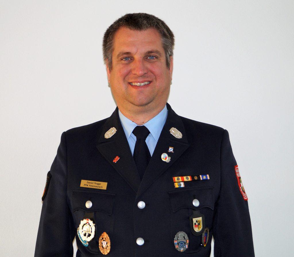 FFW Petersaurach 2. Kommandant Daniel Mogge (M.I.)