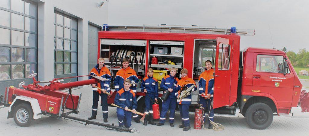 Jugendgruppe FFW Petersaurach M.I.