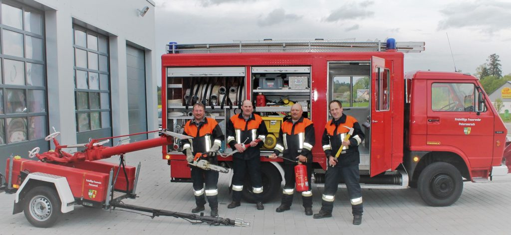 Löschgruppe 4 Gruppenführer: Geißendörfer Daniel, Köhler Thomas (M.I.)